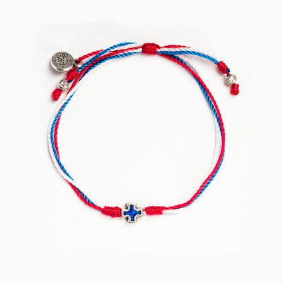 United in Prayer Bracelet (One Nation Under God)