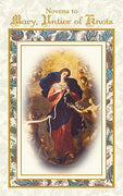 Novena Book - Mary Untier Of Knots Aquinas Press - Unique Catholic Gifts