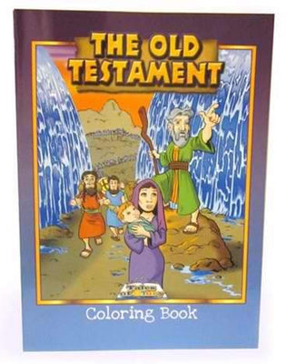 Old Testament  Coloring Book - Unique Catholic Gifts