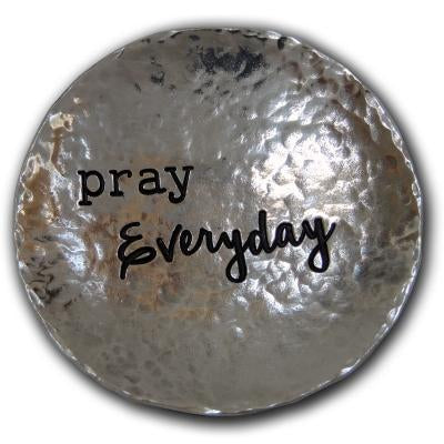 Pray Every Day Trinket Dish - Unique Catholic Gifts