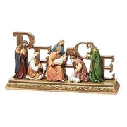 "Peace Nativity Set  12""L - Unique Catholic Gifts"