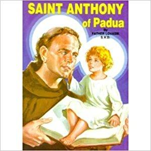 Saint Anthony of Padua Children's book - Unique Catholic Gifts