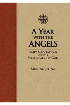 A Year with the Angels: Daily Meditations with the Messengers of God (ultra-soft) - Unique Catholic Gifts
