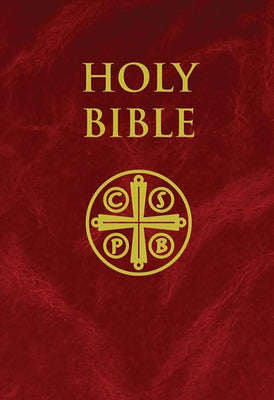 NABRE - New American Bible Revised Edition (Burgundy Hardcover) - Unique Catholic Gifts