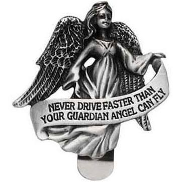 Auto Visor Clip Guardian Angel. (1  1/2 x 2