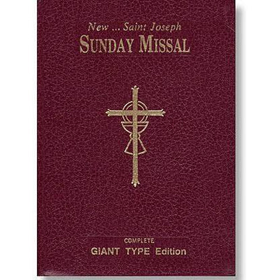 St Joseph Sunday Missal (Large Type)