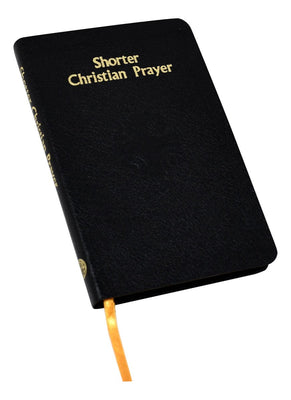 Shorter Christian Prayer (Black Leather)