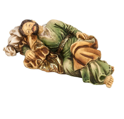 Sleeping St. Joseph Hand Painted (4
