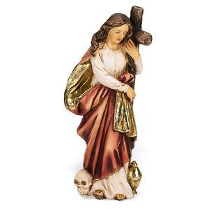 St Mary Magdelene Hand Painted Solid Resin Statue (4