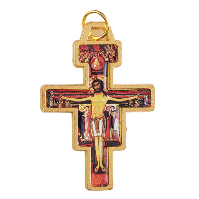San Damiano Cross/Crucifix with Cord(6