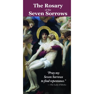 The Rosary of the Seven Sorrows pamphlet - Unique Catholic Gifts
