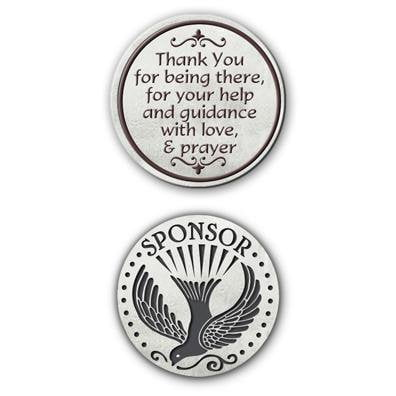 Sponsor Pocket Token Coin - Unique Catholic Gifts