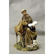 St Francis Statue 8.5 inches jmj - Unique Catholic Gifts