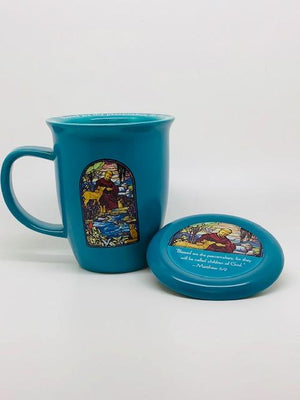 St. Francis Mug and Coaster Set - Unique Catholic Gifts