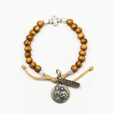Archangel Raphael Rooted in Faith Bracelet