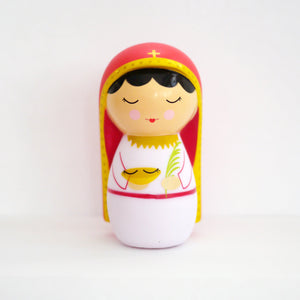 Saint Lucy Shining Light Doll - Unique Catholic Gifts