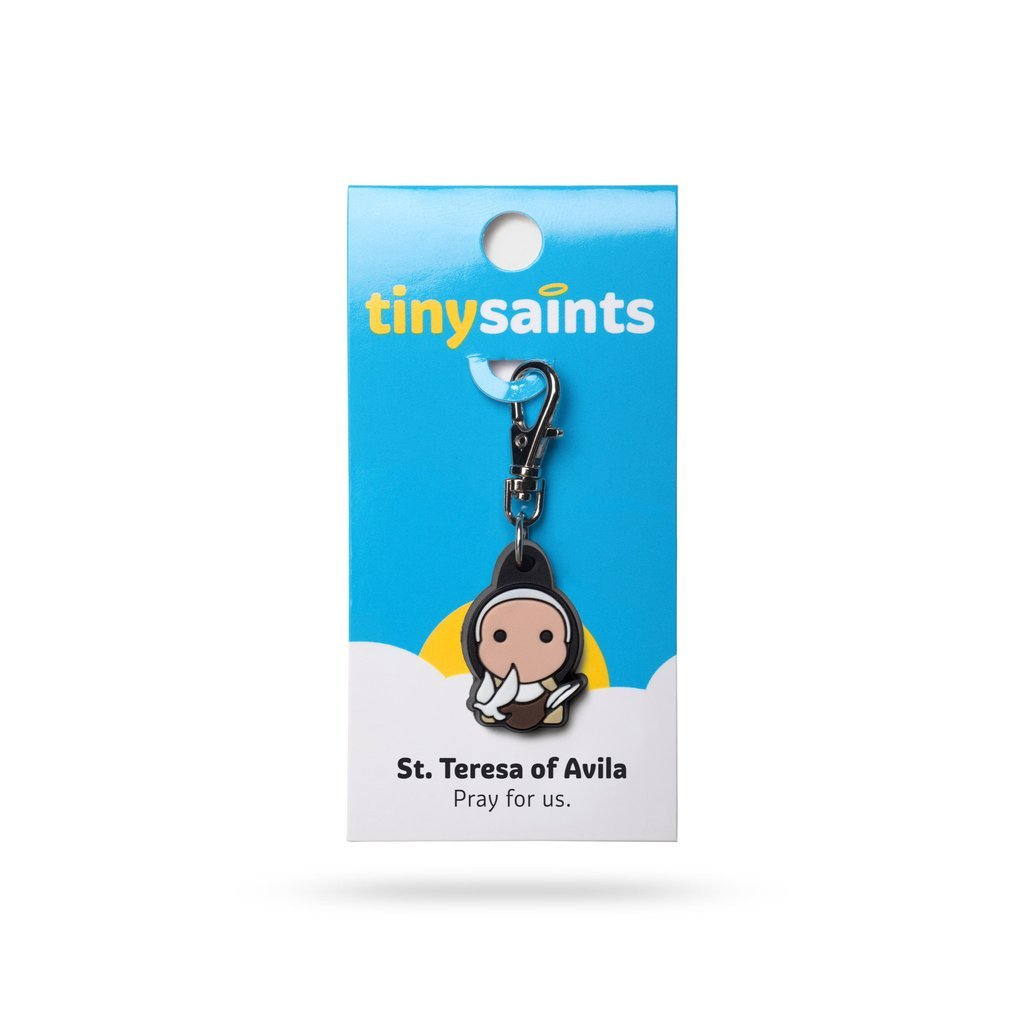 Saint Teresa of Avila Tiny Saint - Unique Catholic Gifts