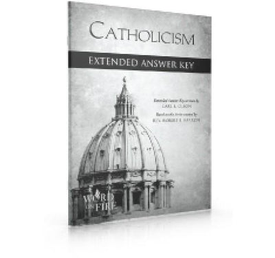 Catholicism Extneded Answer Key