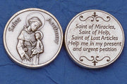 St. Anthony Italian Pocket Token Coin - Unique Catholic Gifts