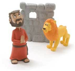 Tales of Glory - Daniel and Lion - Unique Catholic Gifts