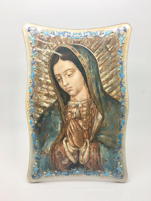 Our Lady of Guadalupe Standing Plaque (6 x 9