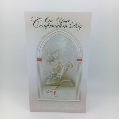 On Your Confirmation Day Greeting Card