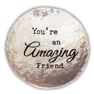 You're and Amazing Friend Trinket Dish
