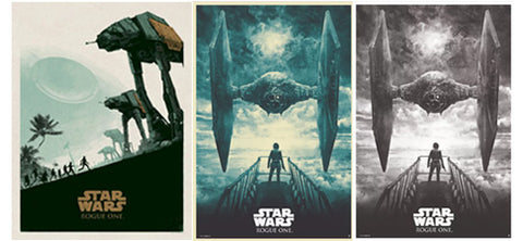 Bottleneck Gallery Rogue One: A Star Wars Story print release
