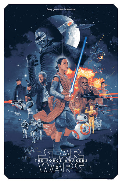Star Wars The Force Awakens by Gabz