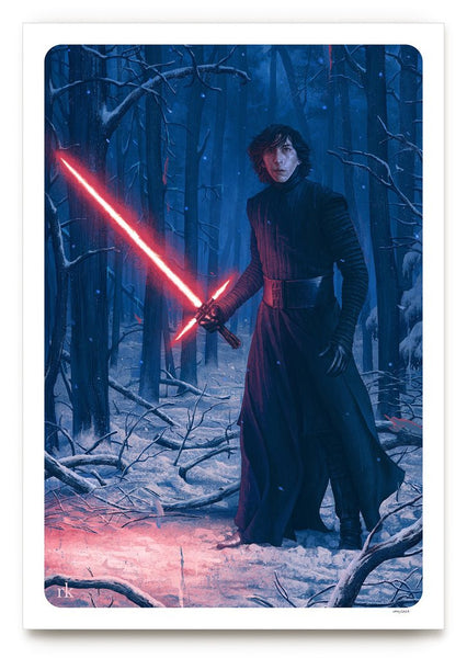 Kylo Ren by Rory Kurtz | Bottleneck Gallery Star Wars The Force Awakens