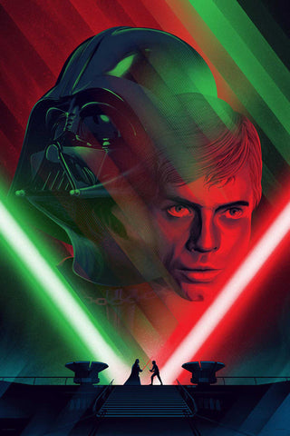 Mondo Death Star II Duel by Kevin Tong
