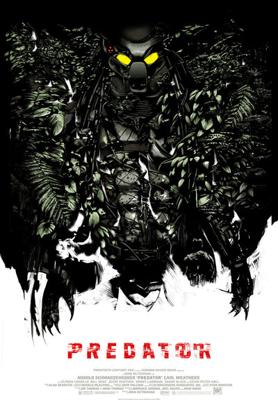 Predator There's Something in the Trees by Oliver Barrett | Bottleneck Gallery