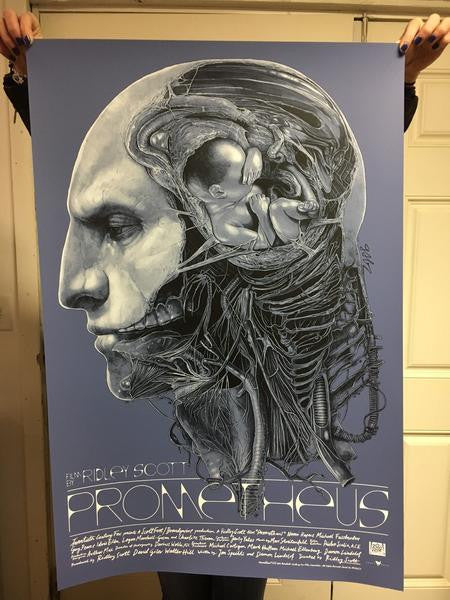 Grey Matter Art Prometheus by Gabz