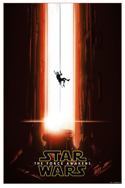 Star Wars The Force Awakens variant by Lee Garbett | Bottleneck Gallery
