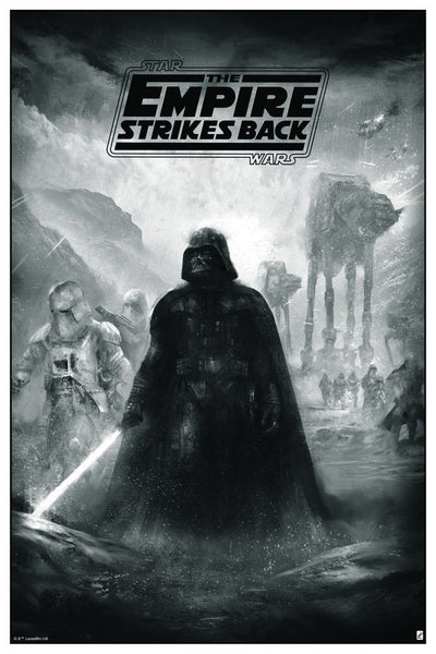 Empire Strikes Back by Karl Fitzgerald | Bottleneck Gallery variant