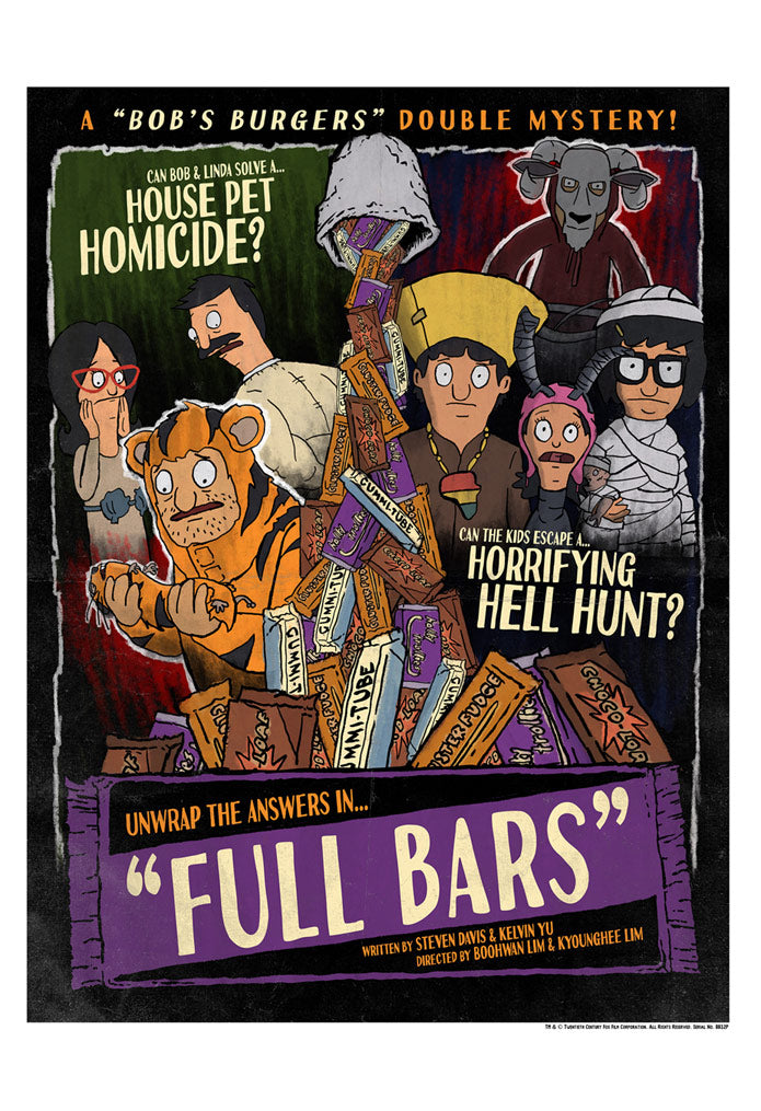 Full Bars by J.J. Lendl | Bob's Burgers