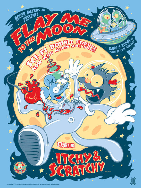 Flay Me to the Moon by James Carroll