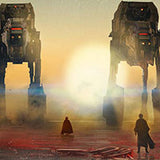 Crait Showdown by Rich Davies | Star Wars