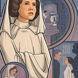 Princess of Rebels by Karen Hallion | Star Wars thumb