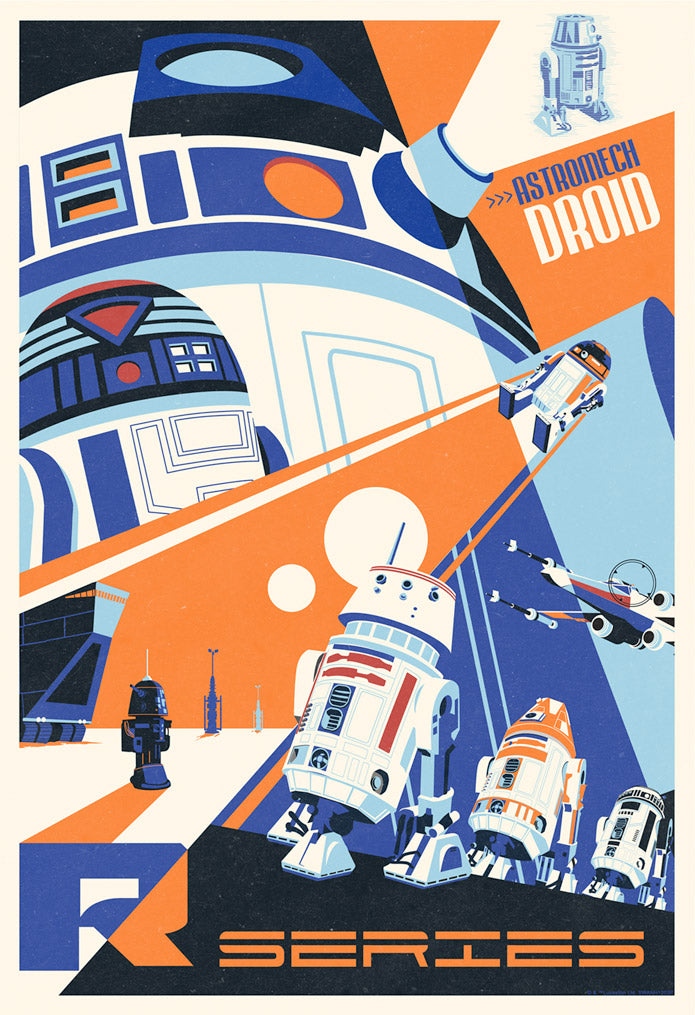 Droids You Can Count On by Steve Thomas | Star Wars