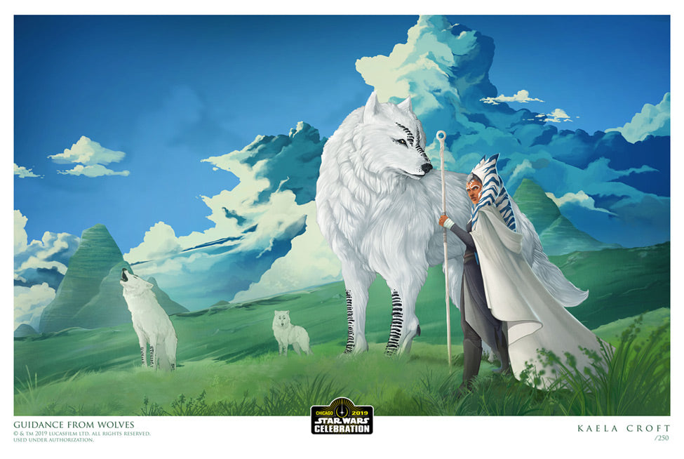 Guidance by Wolves by Kaela Croft | Star Wars Celebration Chicago