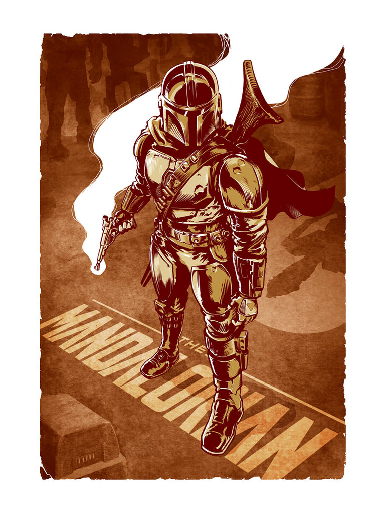 This Is The Way by Chris Kawagiwa | Star Wars
