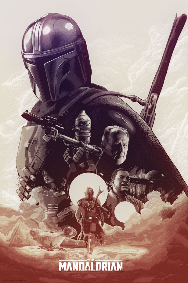 They're Waiting for You by Devin Schoeffler | Star Wars The Mandalorian