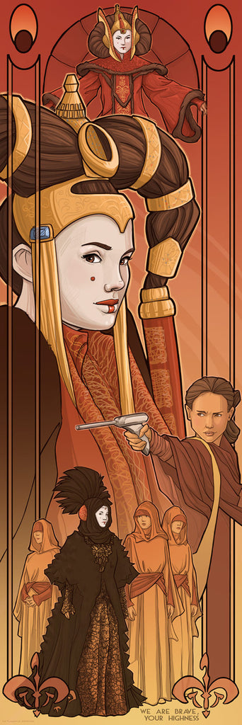 Queen Amidala by Karen Hallion | Star Wars