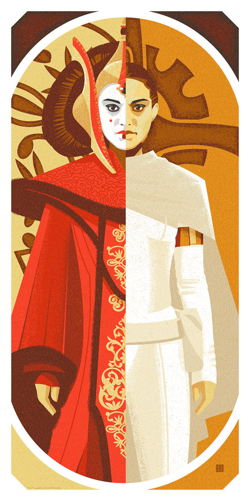 Queen and Senator by Danny Haas | Star Wars
