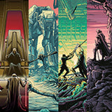 """The Last Jedi Set of 4"" Variant set by Dan Mumford 