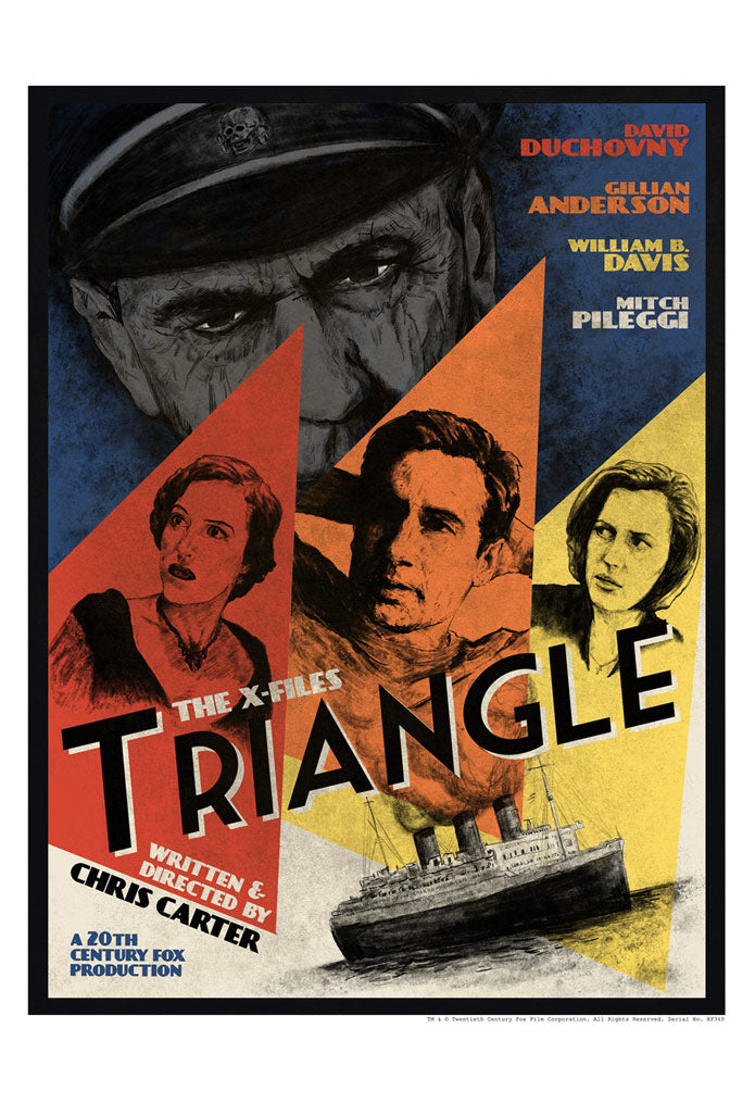 Triangle by J.J. Lendl | The X-Files