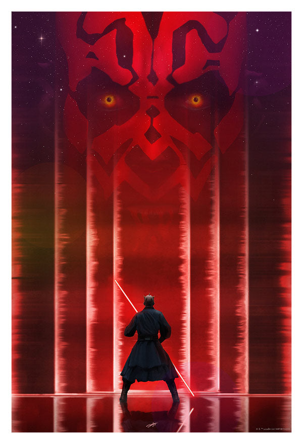 Apprentice of Darkness by Andy Fairhurst | Star Wars: The Phantom Menace