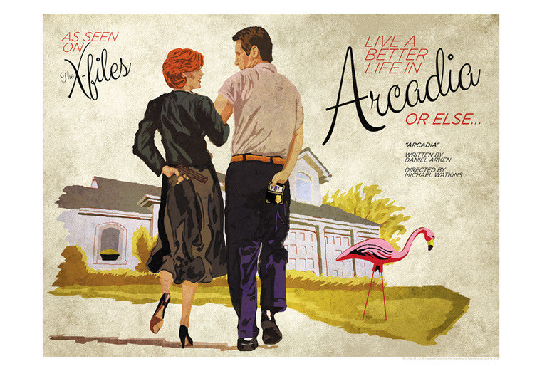 Arcadia by J.J. Lendl | The X-Files