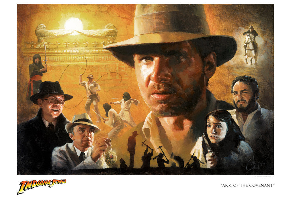 Image result for Indiana Jones finds the Ark of the Covenant